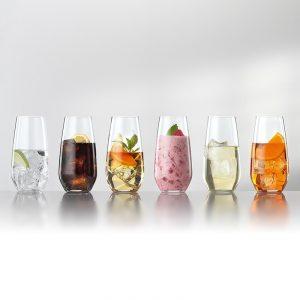 Spiegelau Authentis Casual Summer Drinks koktélos pohár készlet