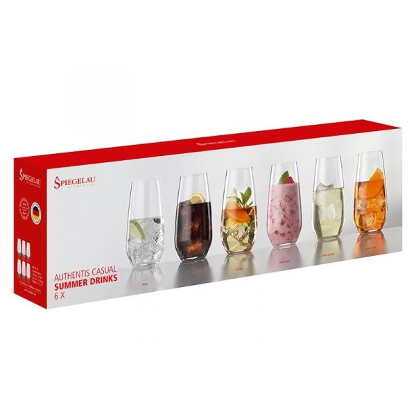 Spiegelau Authentis Summer Drinks koktélos pohár készlet
